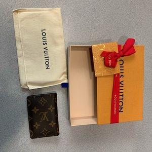Louis Vuitton pocket organizer monogrammed